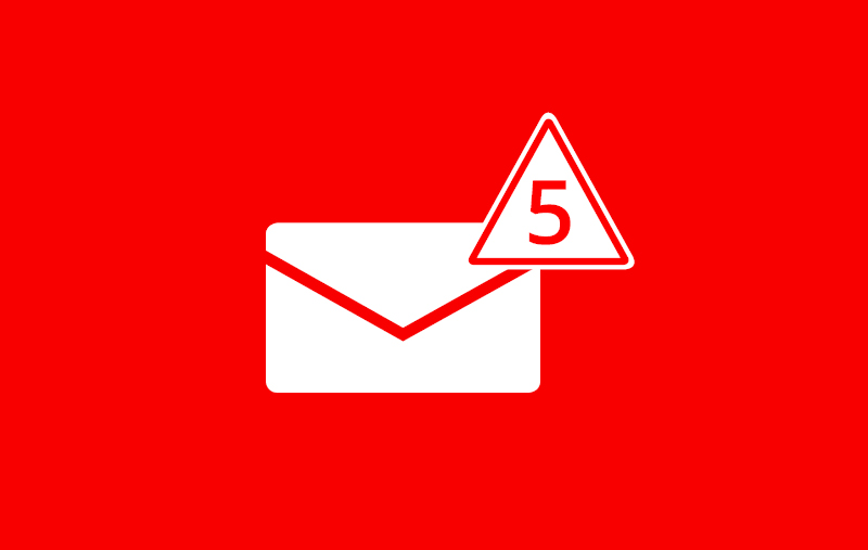 5 email risks your business should avoid