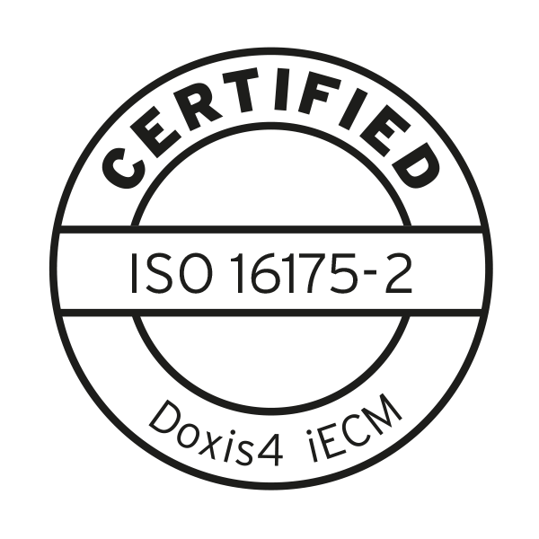 ISO 16175 certification