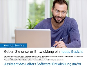 Assistent des Leiters Software-Entwicklung