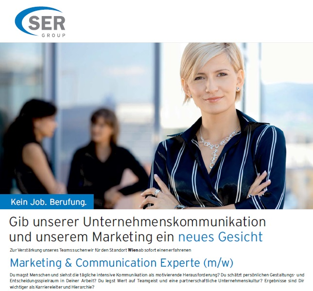 Marketing & Communication Experte (m/w)