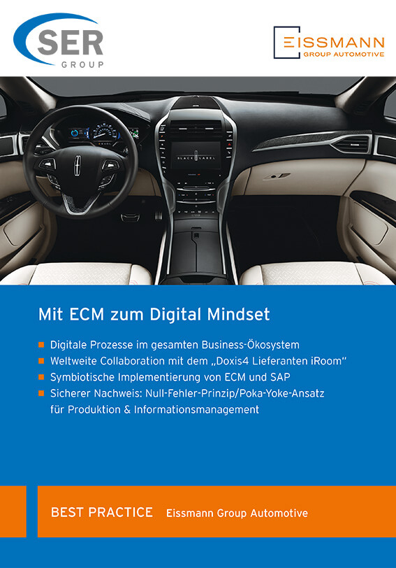 Eissmann Group Automotive: Mit ECM zum Digital Mindset