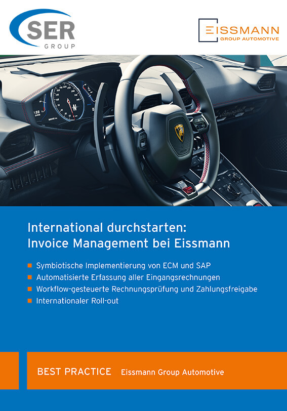 International optimal organisiert: Invoice Management bei Eissmann