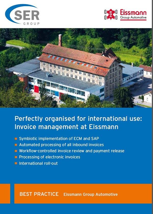 Best Practice: Eissmann Group Automotive Invoice Management