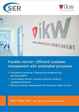 Flexible control – Efficient customer management with automated processes