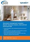 Duravit AG: Document management reloaded – Duravit launches modern, international ECM from SER