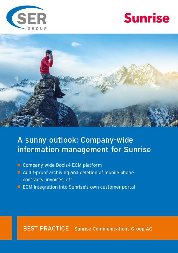 Sunrise: Company-wide information management