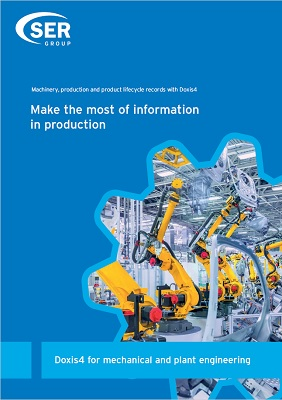 Doxis4 for mechanical and plant engineering - Make the most of information in production
