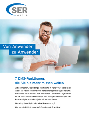 7 Funktionen eines Dokumentenmanagement-Systems
