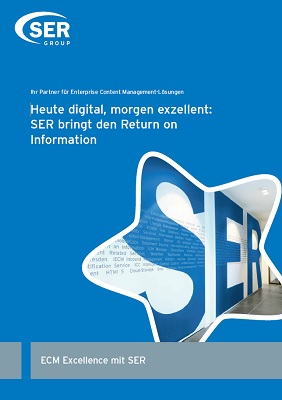 Heute digital, morgen exzellent: SER bringt den Return on Information