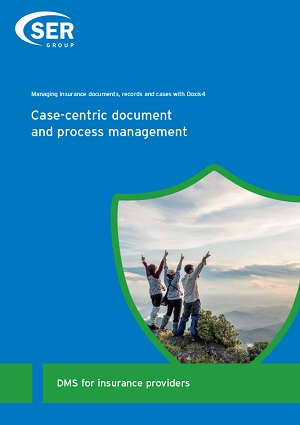 DMS for insurance providers. Case-centric document and process management