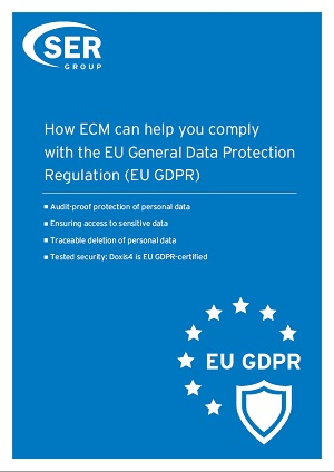 How Doxis4 can help you to comply with the EU GDPR
