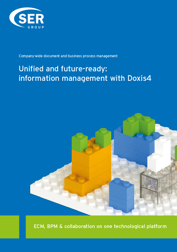 Unified and future-ready: information management with Doxis4