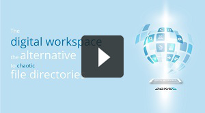 The digital workspace - the alternative to chaotic file directories