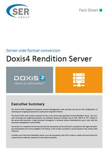 Server-side format conversion - Doxis4 Rendition Server
