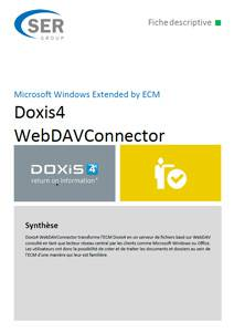 Microsoft Windows Extended by ECM - Doxis4 WebDAVConnector