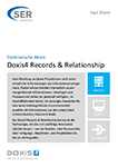 Doxis4 Records & Relationship - Elektronische Akten