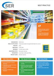 EDEKA Nord: Professional property management with electronic records