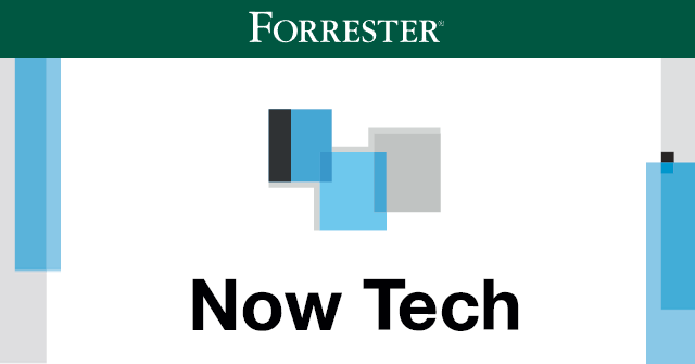 "Forrester-Report ""Now Tech: Content Platforms"""