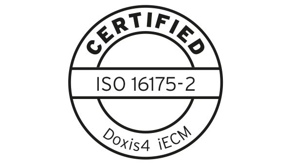 SER is ISO 16175-2 and NEN 2082 Certified